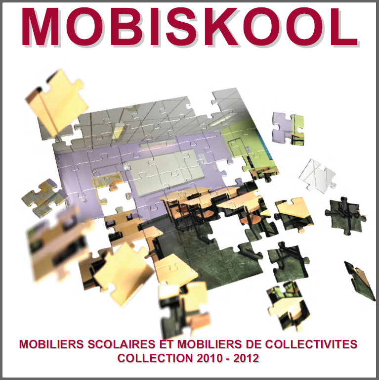 Catalogue de mobilier scolaire MOBISKOOL (2017)